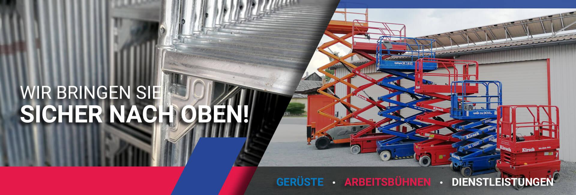 Helmut Kirsch GmbH in Pegnitz - Arbeitsbühnen & Gerüste